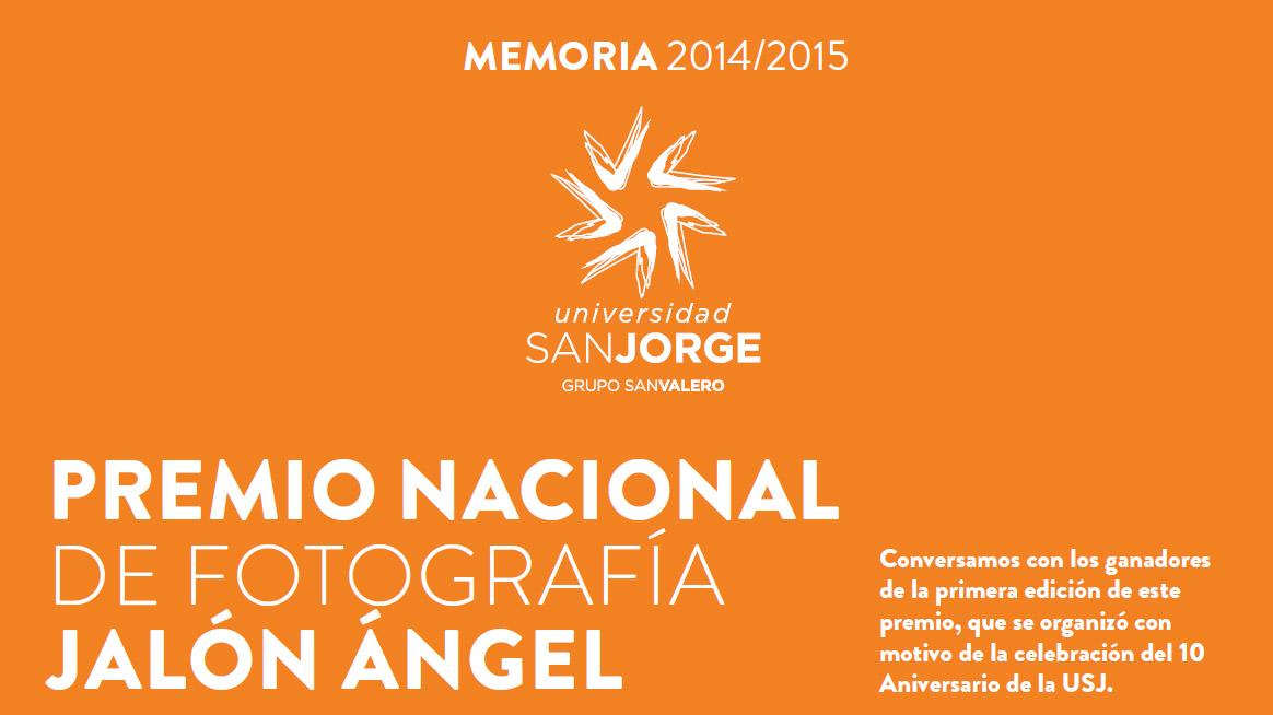 Entrevistas en la Memoria de la Universidad San Jorge 2014/2015